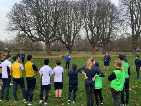 Team GB Olympian Talk and Coaching at KPS