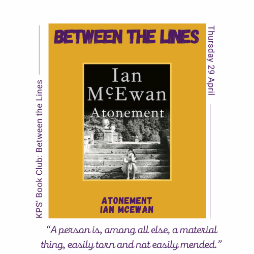 Between the Lines- Atonement by Ian McEwan