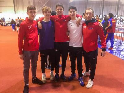 Y12 Pupil Joe Attends U17 Foil Competition
