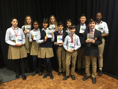 Poems by Lower School Pupils Published in the Through Their Eyes Poetry Collection